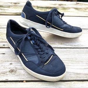 Zara men's navy sneakers Sz 11 ( EU44 )